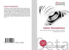 Copertina di Valens Thessalonicus