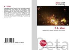 Capa do livro de R. L. Stine