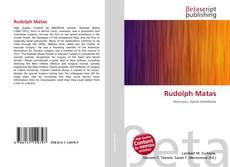 Buchcover von Rudolph Matas