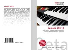 Bookcover of Yamaha SHS-10