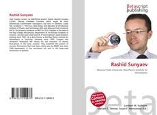 Bookcover of Rashid Sunyaev
