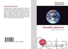 Bookcover of Riazuddin (physicist)