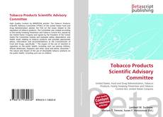 Bookcover of Tobacco Products Scientific Advisory Committee