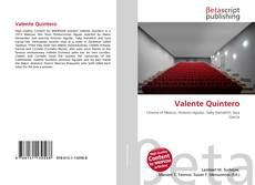 Bookcover of Valente Quintero