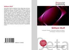 Bookcover of William Wulf