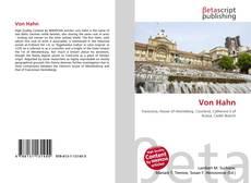 Bookcover of Von Hahn