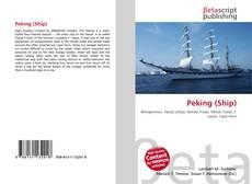 Bookcover of Peking (Ship)