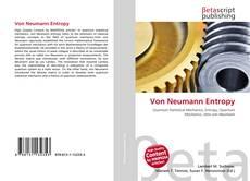 Bookcover of Von Neumann Entropy
