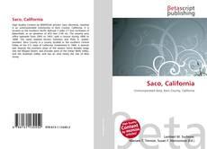 Bookcover of Saco, California