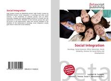 Bookcover of Social Integration