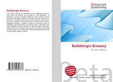Обложка Radeberger Brewery