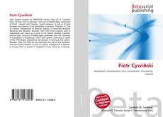 Capa do livro de Piotr Cywiński