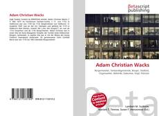 Bookcover of Adam Christian Wacks