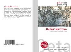 Bookcover of Theodor Mommsen