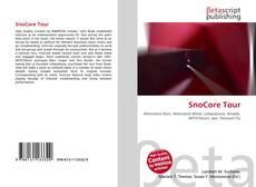 Buchcover von SnoCore Tour