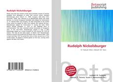 Buchcover von Rudolph Nickolsburger