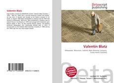 Borítókép a  Valentin Blatz - hoz