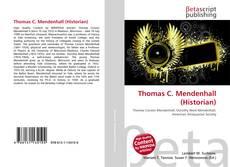 Thomas C. Mendenhall (Historian) kitap kapağı