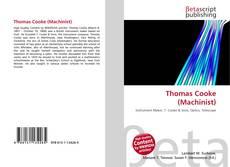 Thomas Cooke (Machinist) kitap kapağı