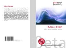 Bookcover of Rules of Origin