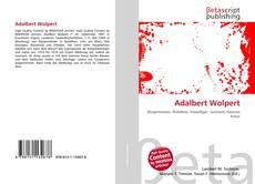 Capa do livro de Adalbert Wolpert