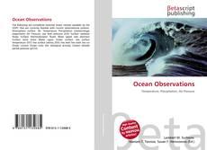 Bookcover of Ocean Observations