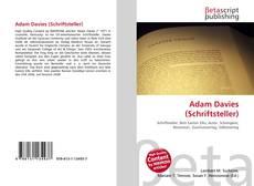 Buchcover von Adam Davies (Schriftsteller)