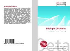 Buchcover von Rudolph Goclenius