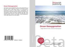 Bookcover of Ocean Deoxygenation