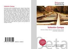 Bookcover of Valentín Campa