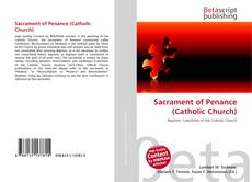 Sacrament of Penance (Catholic Church) kitap kapağı