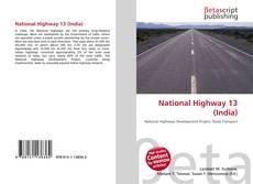 National Highway 13 (India) kitap kapağı