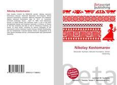 Bookcover of Nikolay Kostomarov