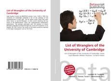 List of Wranglers of the University of Cambridge的封面