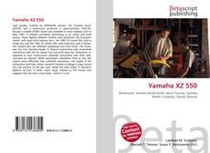 Bookcover of Yamaha XZ 550