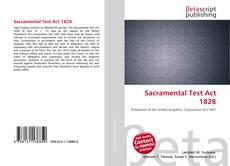 Portada del libro de Sacramental Test Act 1828