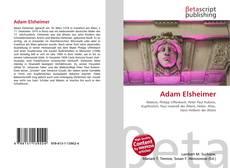 Bookcover of Adam Elsheimer