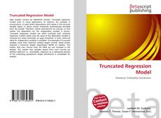 Bookcover of Truncated Regression Model