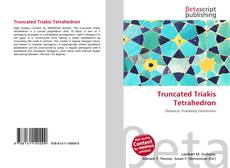 Bookcover of Truncated Triakis Tetrahedron