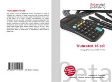 Bookcover of Truncated 16-cell