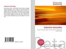 Borítókép a  Valentín González - hoz