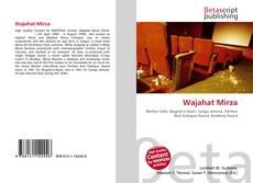 Portada del libro de Wajahat Mirza