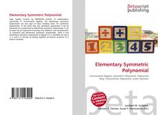 Bookcover of Elementary Symmetric Polynomial