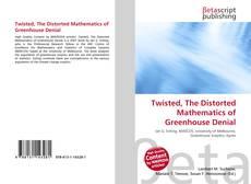 Capa do livro de Twisted, The Distorted Mathematics of Greenhouse Denial