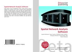 Bookcover of Spatial Network Analysis Software