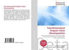 Capa do livro de Two-Dimensional Singular Value Decomposition