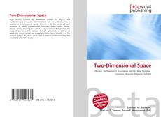 Bookcover of Two-Dimensional Space