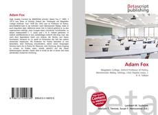 Buchcover von Adam Fox