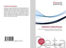 Copertina di Valentin Valentinsen