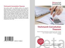 Bookcover of Titchmarsh Convolution Theorem